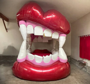 monster mouth bed created by K.S. Lewis and Max Allstadt